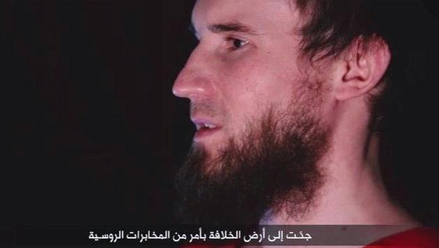 Opferfest: IS-Schl�chter t�ten Gefangene wie Vieh (Bild: twitter.com)