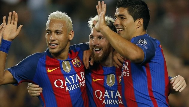 Barcelona fegt mit 7:0 über Celtic Glasgow hinweg! (Bild: Associated Press)