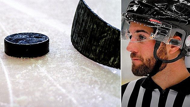 Drama! Eishockey-Schiri stirbt nach Puck-Treffer (Bild: GEPA, IIHF)