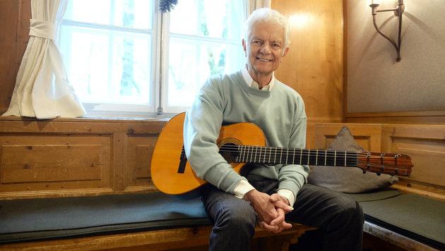 Song-Contest-Veteran Peter Horton wird 75 (Bild: BARBARA GINDL/APA)