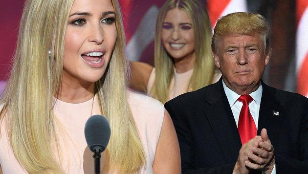 Trump-Tochter wird Angestellte im Weißen Haus (Bild: AFP)