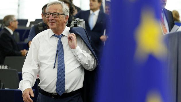 """Juncker: """"Europa darf kein Schmelztiegel werden"""" (Bild: AP)"""