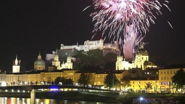 Feuerwerk für heuer abgesagt! (Bild: Franz Neumayr (Symbolbild))