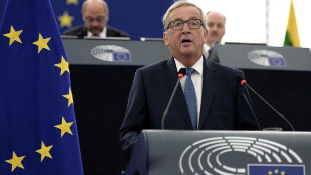 """Juncker: """"Europa darf kein Schmelztiegel werden"""" (Bild: AFP)"""