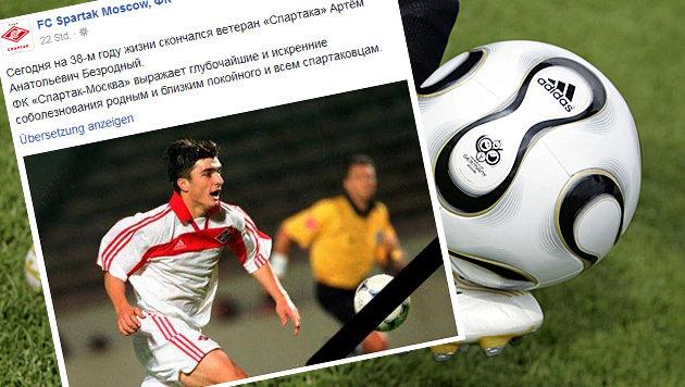 Russischer Ex-Profi Besrodny mit 37 gestorben! (Bild: dpa/dpaweb/adidas/A9999 Db adidas)