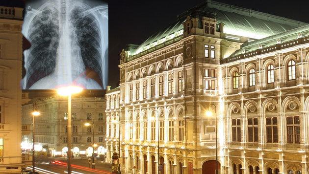 Viele Mitarbeiter der Wiener Staatsoper müssen wegen eines TBC-Falles zum Röntgen. (Bild: APA/dpa/Rainer Jensen, APA/Georg Hochmuth)