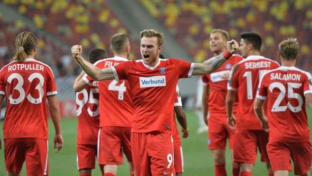Austria spielt gegen Pilsen um Basis für Aufstieg (Bild: AFP)
