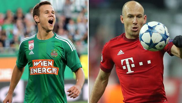 Ähnlich wie Robben! Genk-Coach warnt vor Schaub (Bild: GEPA)