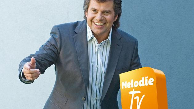 """""""Andy Borg bei Freunden"""" heißt Borgs neue Sendung auf Melodie TV. (Bild: Melodie TV)"""