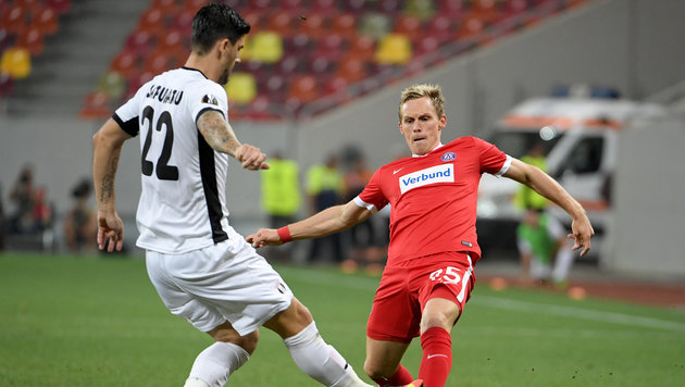 Austria-Youngster beschert Veilchen 3:2-Erfolg (Bild: APA/ROLAND SCHLAGER)