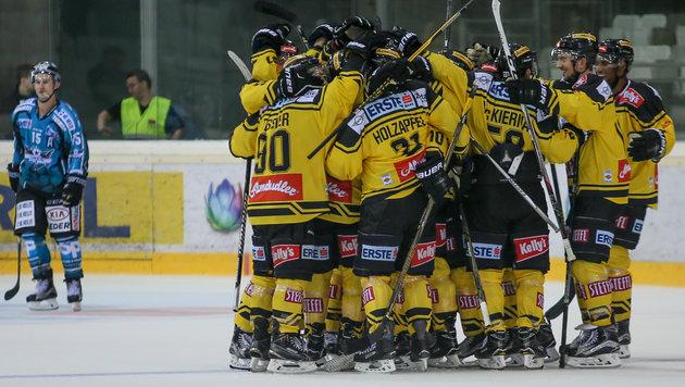 Capitals bezwingen Linz zum Liga-Auftakt (Bild: GEPA)