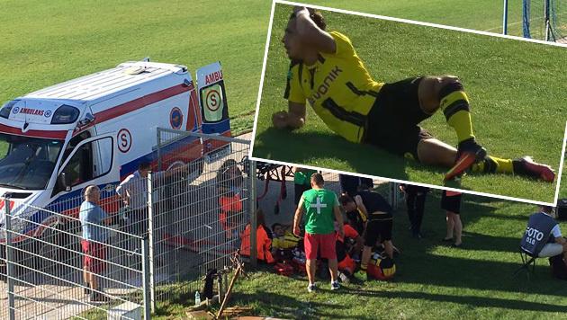 Schock! BVB-Juwel zieht sich Horror-Verletzung zu (Bild: twitter.com)