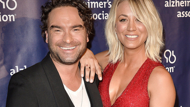 Johnny Galecki und Kaley Cuoco (Bild: Viennareport)