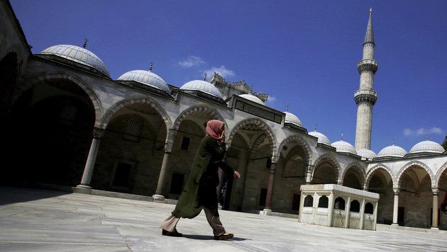 Türkei: 9000 neue Moscheen in 10 Jahren errichtet (Bild: ASSOCIATED PRESS)