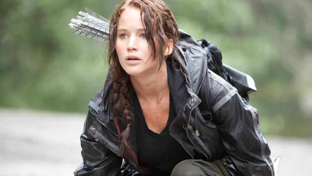"""Jennifer Lawrence in """"Die Tribute von Panem"""" (Bild: Viennareport)"""