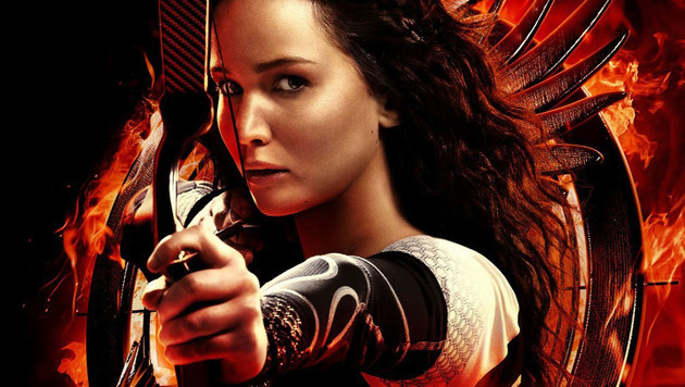 "Jennifer Lawrence in ""Die Tribute von Panem"" (Bild: Viennareport)"