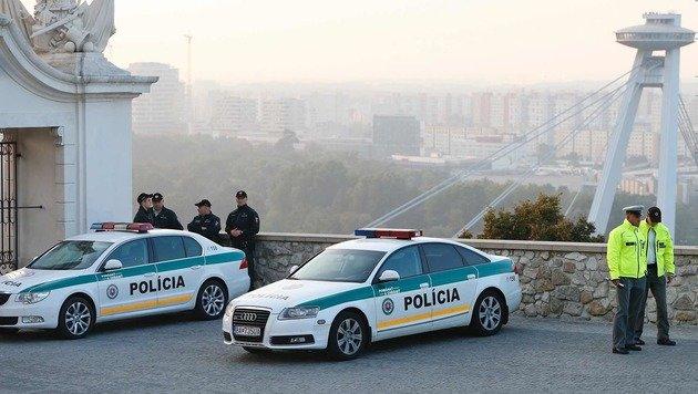 Der Tagungsort wurde durch ein Großaufgebot der Polizei bewacht. (Bild: ASSOCIATED PRESS)