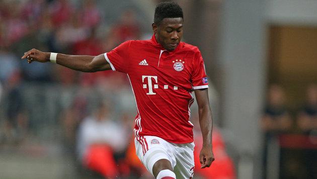 Kranker Alaba fehlt den Bayern gegen Ingolstadt (Bild: GEPA)