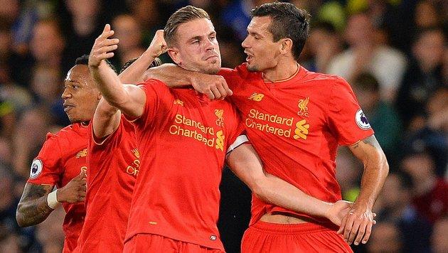 Liverpool gewinnt Schlager bei Chelsea (Bild: APA/AFP/GLYN KIRK)