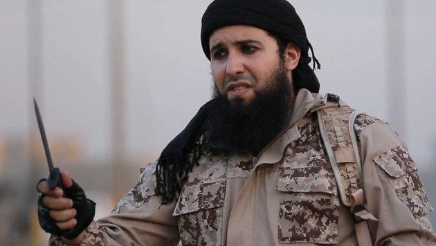 Unter den französischen IS-Sympathisanten gilt Raschid Kassim als Held. (Bild: APA/AFP/Welayat Nineveh)