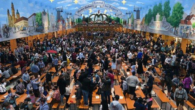 """Erste Alkoholvergiftung heuer """"erst"""" am Nachmittag (Bild: AFP)"""