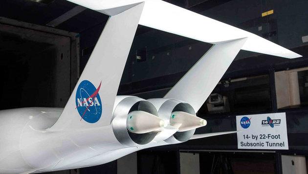 Schauen Passagier-Jets in naher Zukunft so aus? (Bild: Aurora Flight Sciences)
