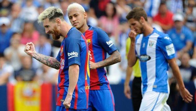 Barcelona schießt Leganes in Grund und Boden (Bild: APA/AFP/PEDRO ARMESTRE)