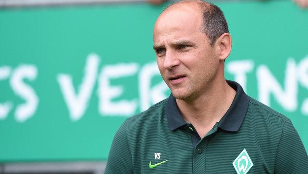Werder Bremens ratloser Coach Viktor Skripnik (Bild: GEPA)
