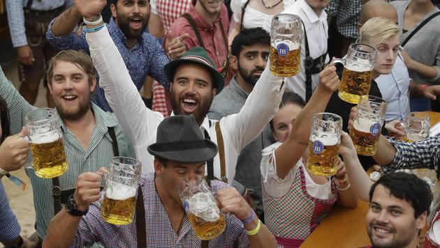 "Erste Alkoholvergiftung heuer ""erst"" am Nachmittag (Bild: Associated Press)"