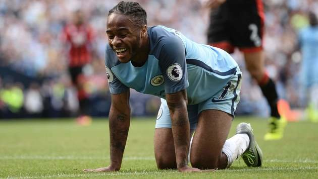 Raheem Sterling (Manchester City) (Bild: AFP)
