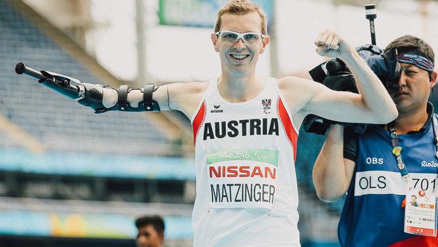 Matzinger holt über 400 Meter unsere 8. Medaille! (Bild: GEPA)