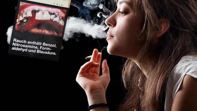 Schockbilder halten offenbar nicht vom Rauchen ab (Bild: thinkstockphotos.de)