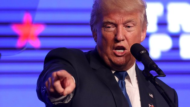 US-Wahlkampf: Trump wütet gegen die eigene Partei (Bild: AFP/Getty Images/Joe Raedle)