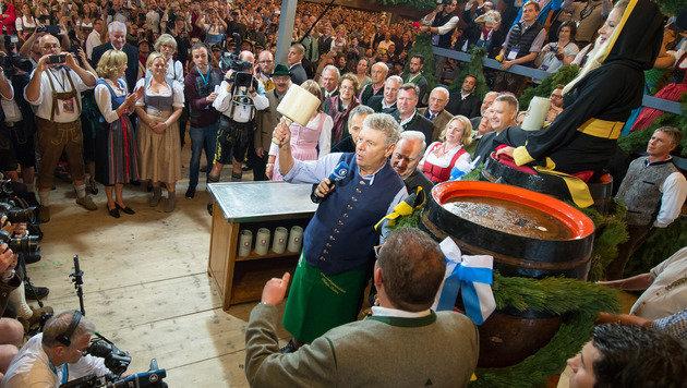 'O'zapft is': 183. Münchner Oktoberfest eröffnet (Bild: AP)