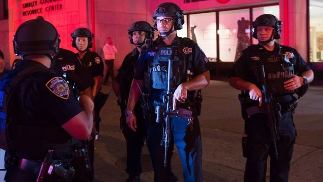 Terror-Ausnahmezustand bei Kerns New-York-Gipfel (Bild: AFP)