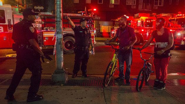 Terror-Ausnahmezustand bei Kerns New-York-Gipfel (Bild: AP)