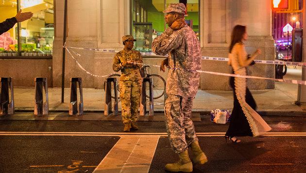 USA unter Schock: Terror mitten in New York (Bild: AP/Andres Kudacki)
