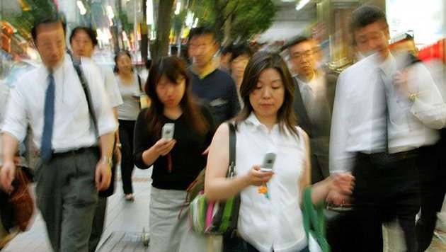 Japan: Mehr als 40% der Singles sind Jungfrau (Bild: AP)