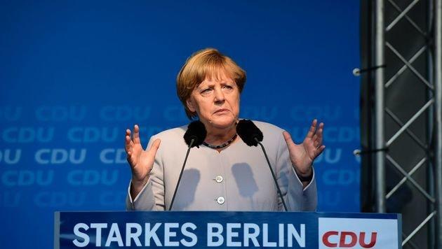 Schwere Zeiten für Merkel (Bild: AFP)