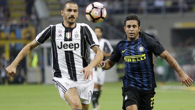 Juve verpasst mit 1:2 bei Inter Tabellenführung (Bild: Associated Press)