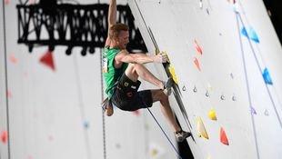 Kletterer Schubert gewinnt WM-Silber im Vorstieg! (Bild: AFP)