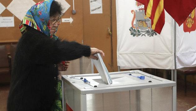 OSZE ortet Unregelmäßigkeiten bei Russland-Wahl (Bild: Associated Press)