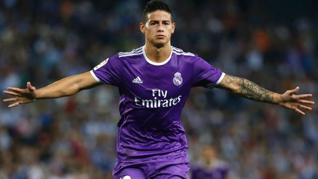 James Rodriguez (Bild: AFP or licensors)