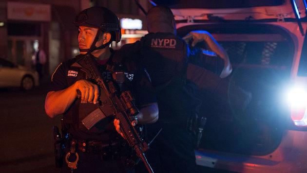 USA unter Schock: Terror mitten in New York (Bild: AFP)