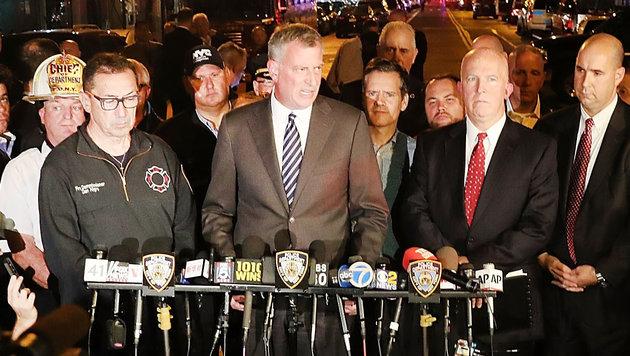 USA unter Schock: Terror mitten in New York (Bild: APA/AFP/GETTY IMAGES/SPENCER PLATT)