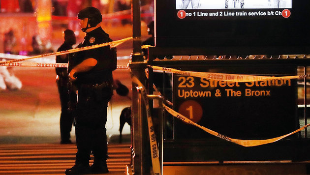Terror-Ausnahmezustand bei Kerns New-York-Gipfel (Bild: APA/AFP/Getty Images/Spencer Platt)