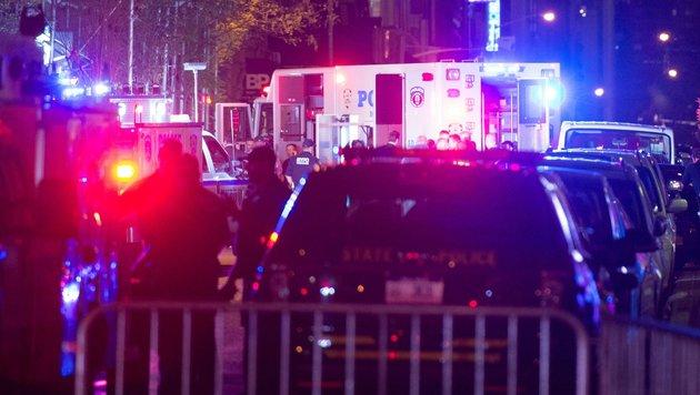 USA unter Schock: Terror mitten in New York (Bild: APA/AFP/Bryan R. Smith)