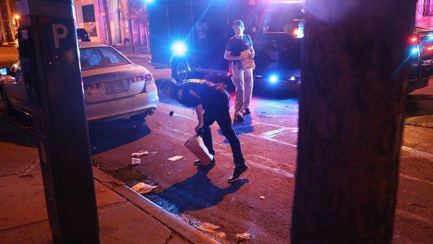 USA unter Schock: Terror mitten in New York (Bild: AFP/Getty Images/Spencer Platt)