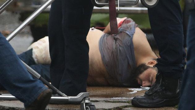 Frau des Verdächtigen verließ Land kurz vor Tat (Bild: AP)