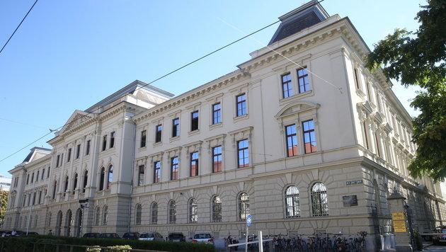 Am Landesgericht Graz wird der Prozess gegen Alen R. abgehalten. (Bild: Sepp Pail)